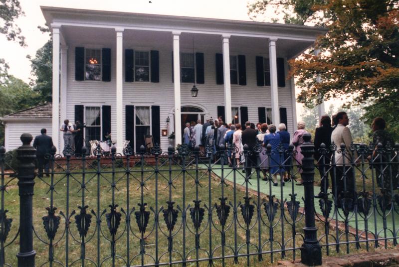 Flint Hill Manison Ann Smith Wedding